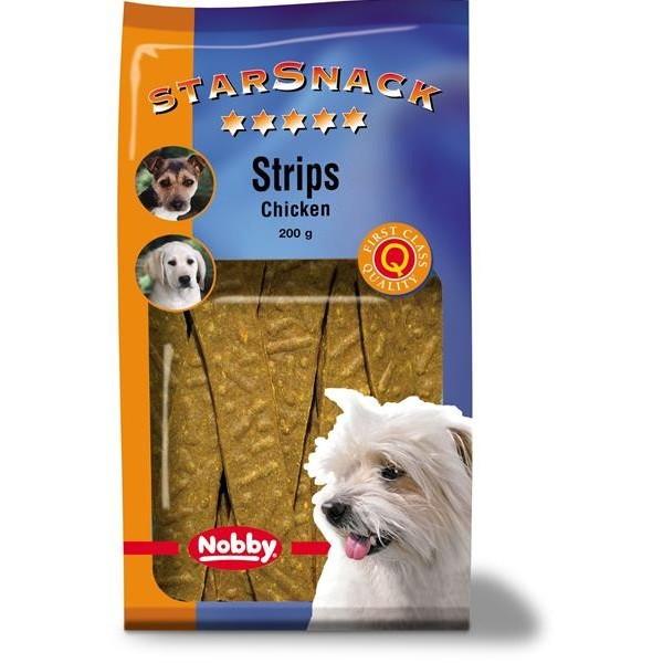 Nobby pamlsek - StarSnack Strips Chicken 20 ks