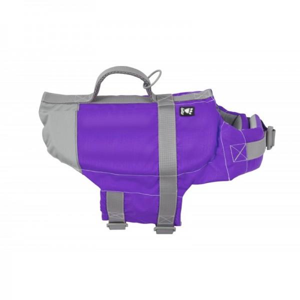Vesta plavací Hurtta Life Savior 20-40 kg fialová