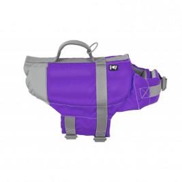 Vesta plavací Hurtta Life Savior 40-80kg fialová
