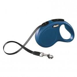 Flexi Classic NEW S pásek 5 m modré 15 kg