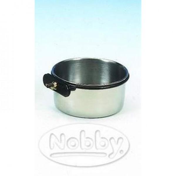 Miska nerez závěsná se šroubem Nobby 200 ml / 7,5 cm