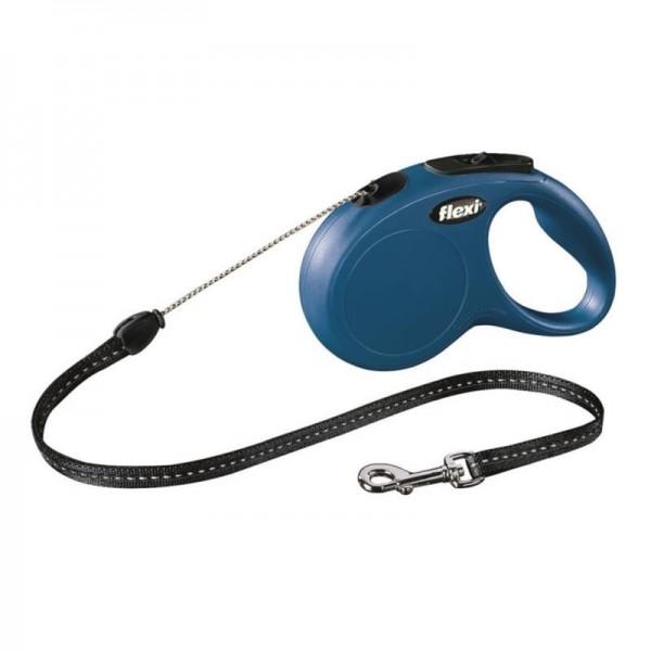 Flexi Classic NEW S lanko 5 m modré 12 kg
