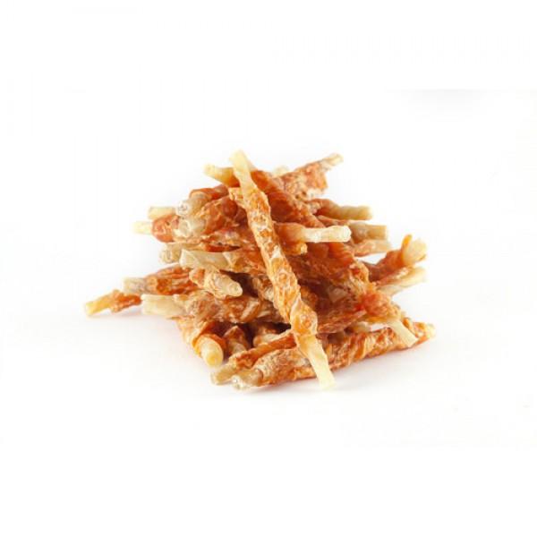 Want pamlsek - tyč z buvolí kůže + kuřecí maso 500 g