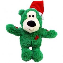 Hračka plyš vánoč. Medvěd S/M Kong