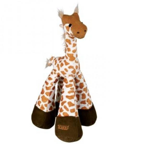 Žirafa pískací plyšová 33 cm