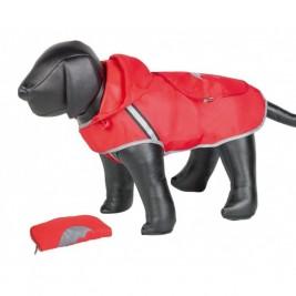 Nobby Rainy červená reflexní pláštěnka pro psa 48cm