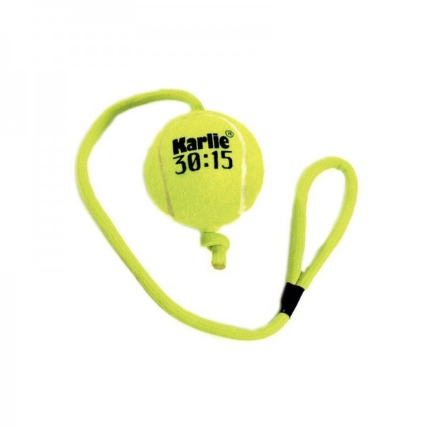 Hračka tenis Míč na šňůrce Karlie 6,5 cm