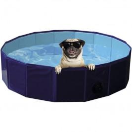 Nobby bazén pro psa skládací modrý L 160x30cm