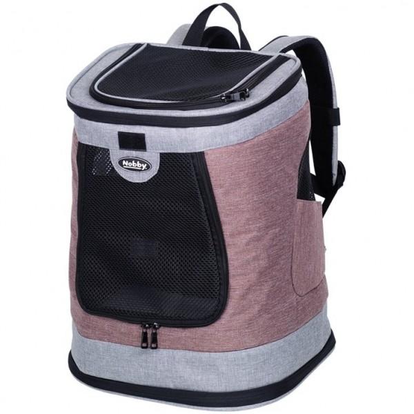 Zadní batoh PLATA do 10 kg 34x30x43 cm starorůžový