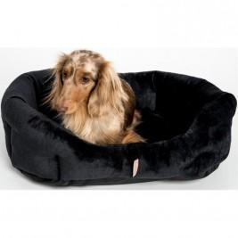 Pelech 8 hran flanel fleece Mazlík černá 45 cm