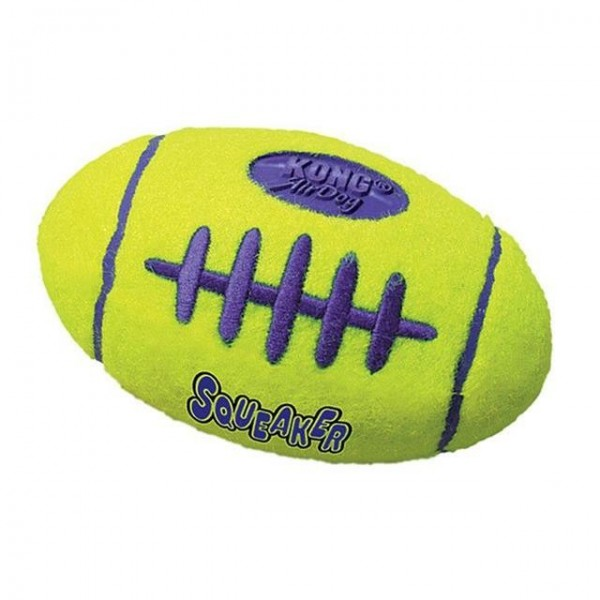 Hračka tenis Air dog Míč rugby Kong medium