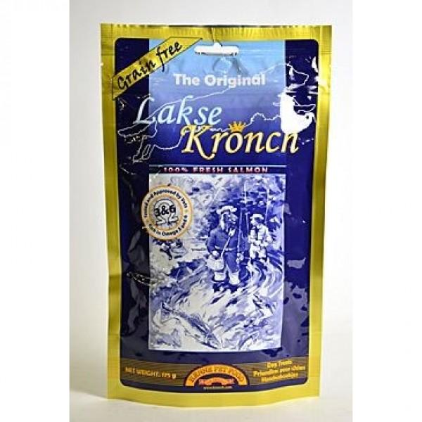 KRONCH pochoutka Treat s lososovým olejem 100% 175g