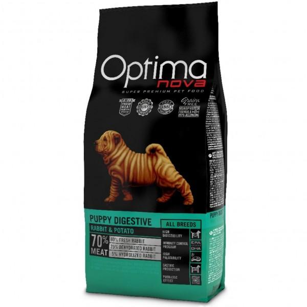 OPTIMAnova dog PUPPY DIGESTIVE GF Rabbit 12kg-Z