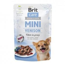 Brit Care Dog Mini Venison fillets in gravy 85g
