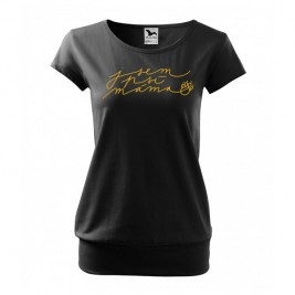 Luxusní tričko - Jsem psí máma - S