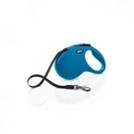 Vodítko FLEXI Classic NEW M pásek 5m/25kg modrá