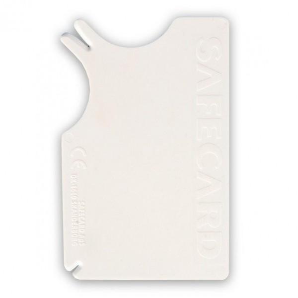 SAFECARD - plastová karta na vytahování klíšťat 8x5 cm