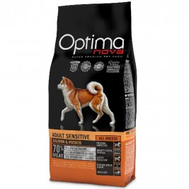 OPTIMAnova dog ADULT SENSITIVE GF Salmon 12kg-Z