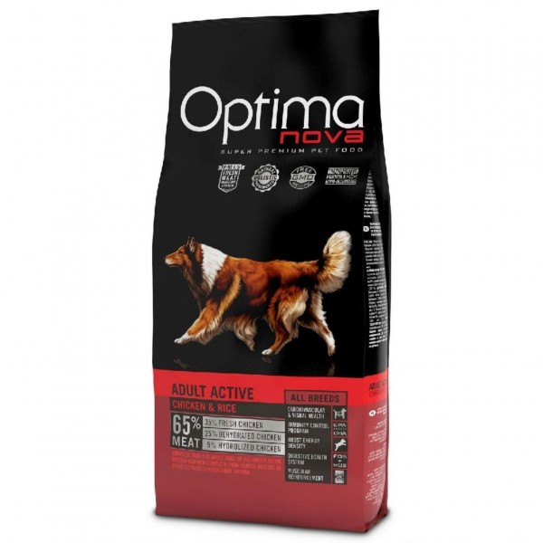 OPTIMAnova dog ADULT ACTIVE 12kg-11095-Z