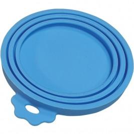 Nobby silikonové víčko na konzervy modrá 1 ks
