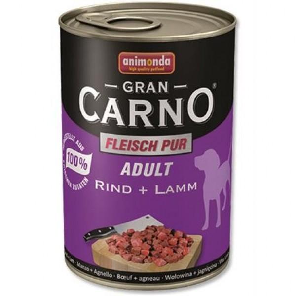 Animonda GranCarno dog konz. - hovězí, jehněčí 400 g