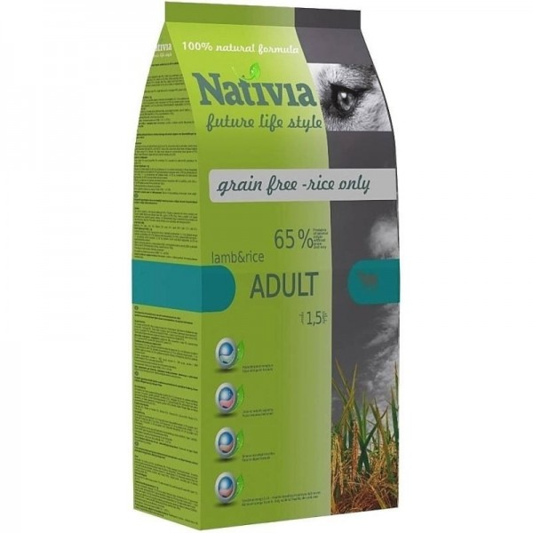 Nativia Adult - lamb&rice