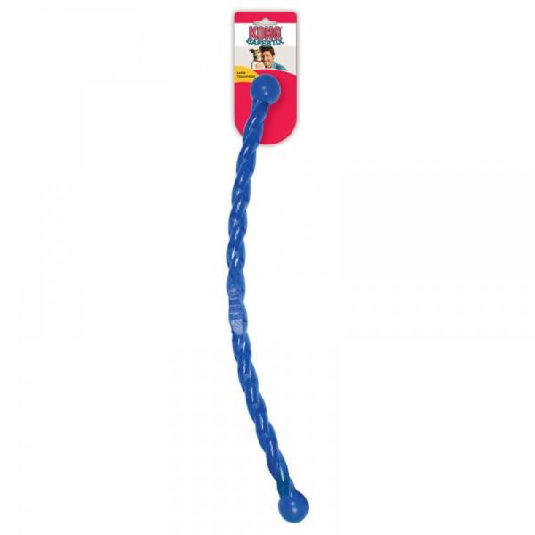 Hračka guma Safestix Hůlka kroucená Kong small
