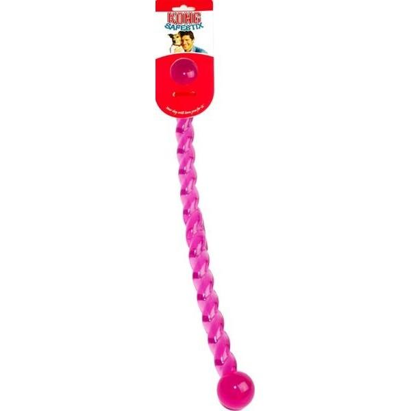 Hračka guma Safestix Hůlka kroucená Kong medium