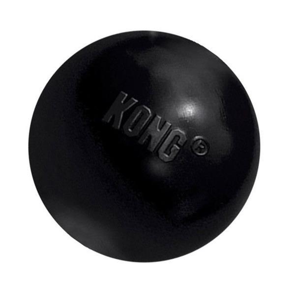 Hračka guma Míč černý Kong medium / large
