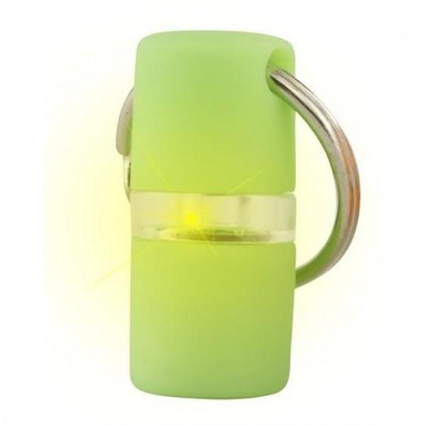 Přívěšek na obojek svítící B´seen Kruuse zelený 1 ks