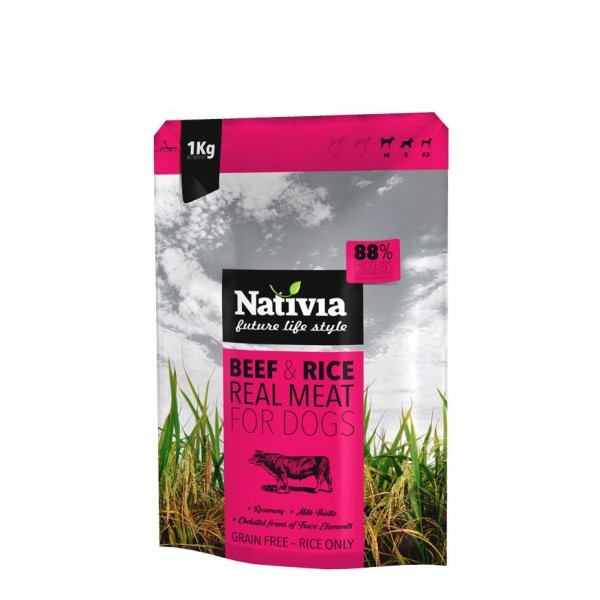 Nativia Real Meat beef&rice