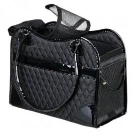 Taška AMINA nylonová černá 18x29x37 cm