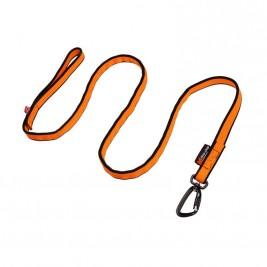 Vodítko s amortizérem oranžové 2 m