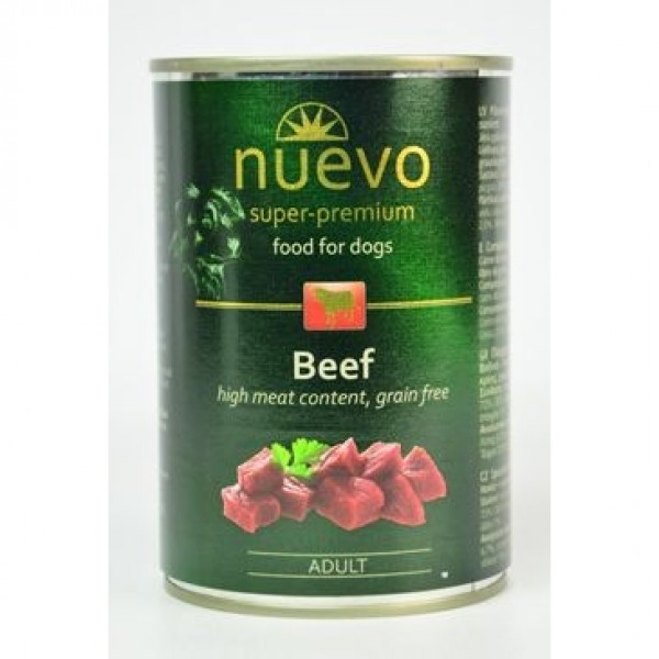 Nuevo pes adult Hovězí konz. 400g