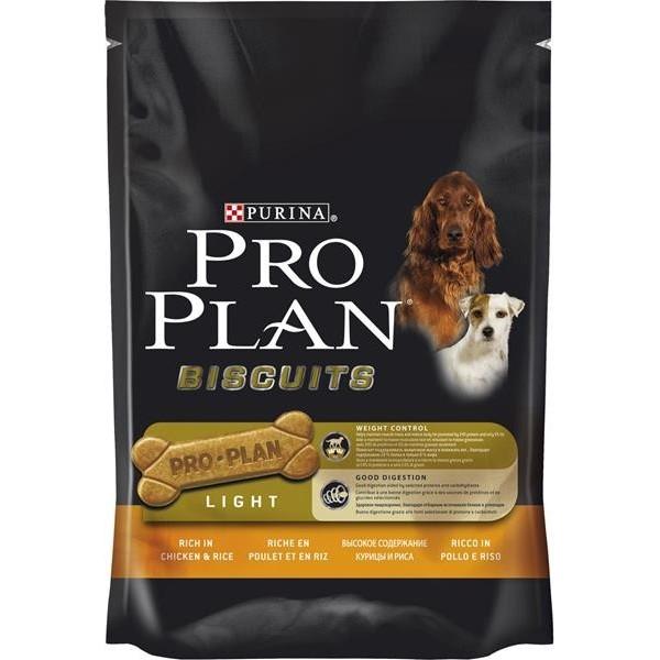 PRO PLAN Biscuits Light Chicken+Rice 400 g