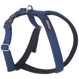 Postroj soft Cotton 34x49-59 blue amiplay