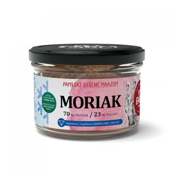 Mrazem sušený Moriak - RAW