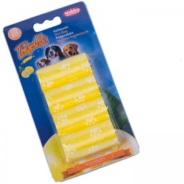 Nobby sáčky na trus s vůní citrónu 4 role (80 sáčků)