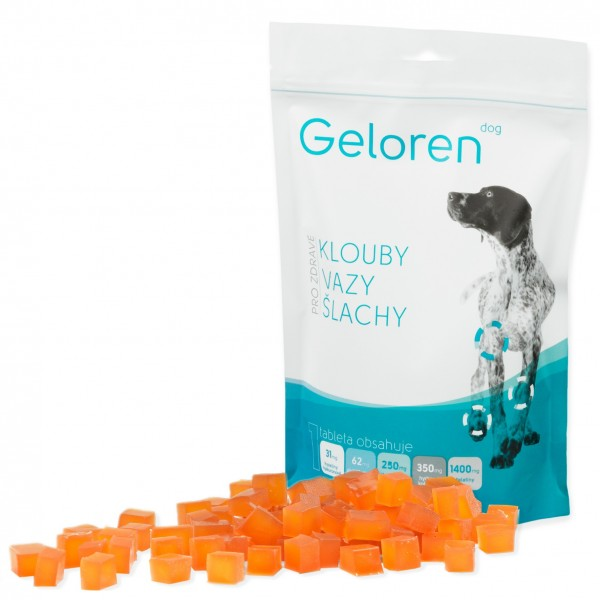 Geloren dog