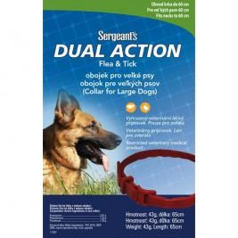 Sergeanťs Dual Action antipar. obojek pro psy 65 cm