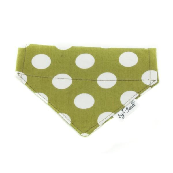 """Šátek na obojek """"Ennis"""" zelený vel. S"""