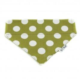 """Šátek na obojek """"Ennis"""" zelený vel. M"""
