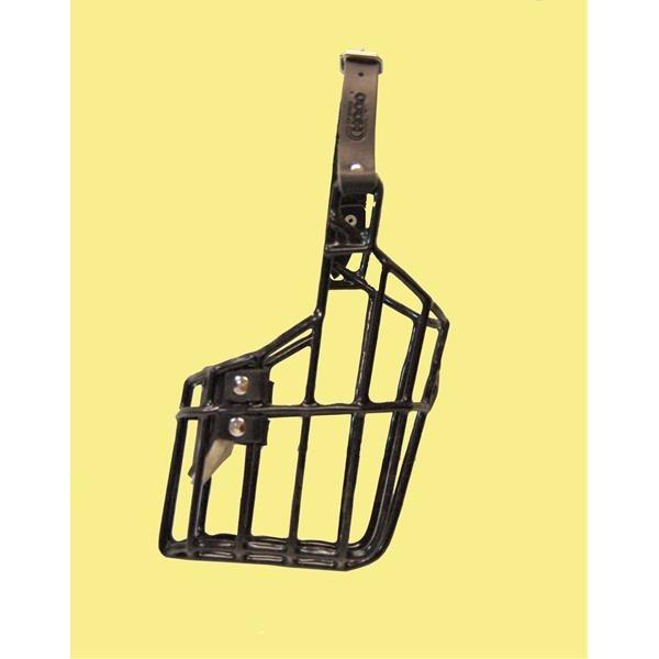 Náhubek kovový Ridgeback - pes, gumoplast 105 x 105 x 140 mm