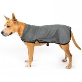 """Obleček - Vesta """"Trekky XL""""funkční pláštěnka šedá 40 cm"""