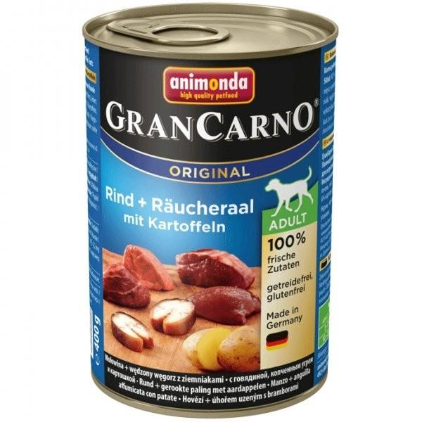 Animonda GranCarno dog konz. - uz. úhoř + brambory 400 g