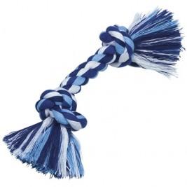 Nobby hračka uzel pro psy 21 cm 50 g modrá