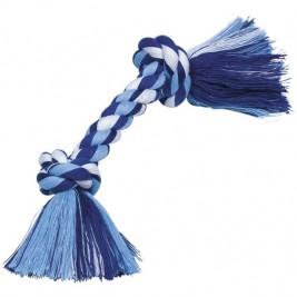 Nobby hračka uzel pro psy 26 cm 90 g modrá
