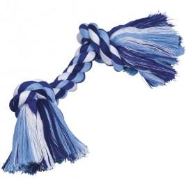 Nobby hračka uzel pro psy 36 cm 270 g modrá