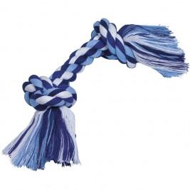 Nobby hračka uzel pro psy 40 cm 390 g modrá