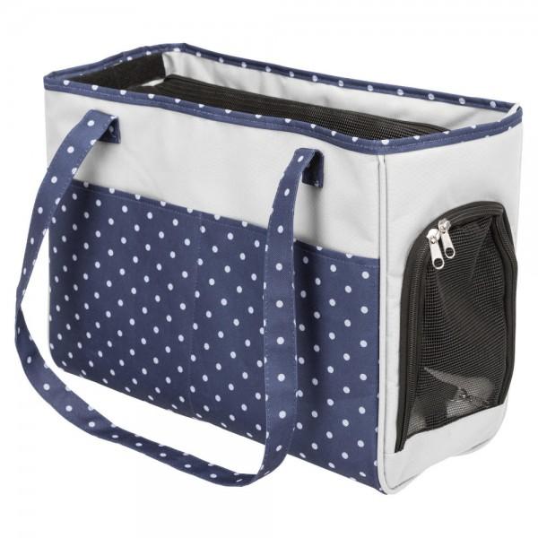 Cestovní taška Bonny 20x29x40 cm, modro/šedá do 5 kg